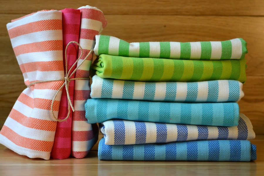 Colorful Kitchen Towels in Bulk