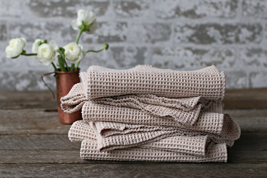 Cotton Kitchen Dish Towels