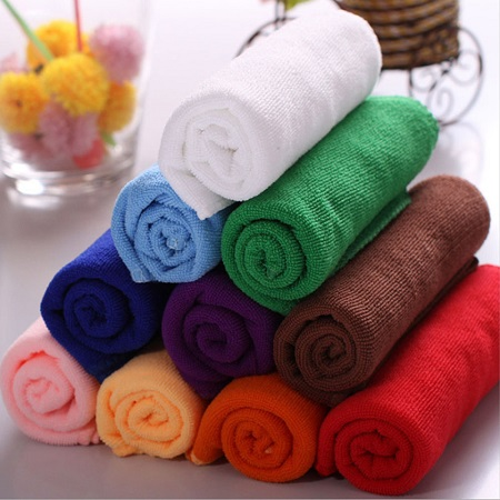 Different Color Microfiber Kitchen Towels