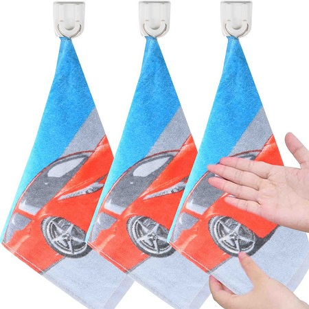 Cars Decorated Three Hand Towels